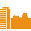 Buildings - orange icon